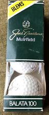 Jack Nicklaus Golf Balls Sleeve Muirfield Balta 100 BLEMS Macgregor 3 Balls