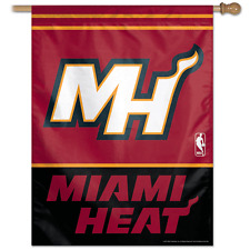 Miami Heat Banner Flag 27 x 37