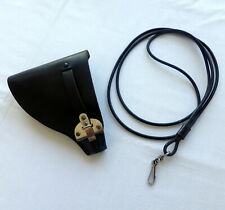 Portuguese POLICE leather holster and PISTOL LANYARD for STAR WALTHER