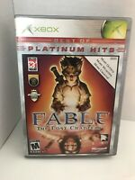 Fable the Lost Chapters  Xbox Platinum Hits CIB