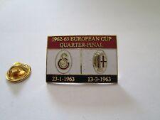 a1 GALATASARAY - MILAN cup uefa champions league 1963 spilla football pins