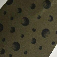 Green Black Polka Dots VENTURI Silk Tie