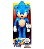 Sonic the Hedgehog Movie Talking Plush Soft Toy Collectible Kids Sega Game