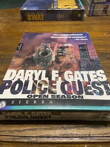 Police Quest: Open Season (1994) Sealed New In Box Collectible