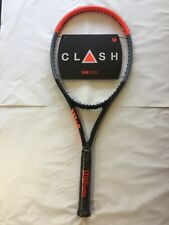 BRAND NEW Wilson Clash 100 Pro Tennis Racquet Grip Size 4 1/4