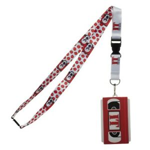 IT Lanyard with Molded Rubber VHS ID Holder