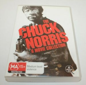 The Chuck Norris 6 Movie Collection DVD 6 Disc-Set Missing In Action Etc..
