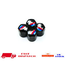 BMW M Alloy Wheel Valve Dust Caps Suitable For BMW & All Cars UK NEW