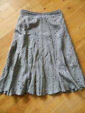 Per Una Calf Length Regular Size Linen Skirts for Women