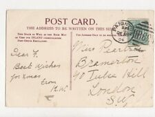 Miss Peartree Bramerton Tulse Hill London SW 1904  787a
