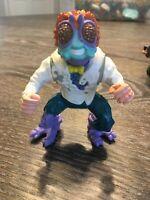 TEENAGE MUTANT NINJA TURTLES 1989 Baxter Stockman Action Figure TMNT