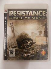 Resistance Fall Of Man Ps3 Playstation3 Ita Console Giochi Usati Guerra Offerta