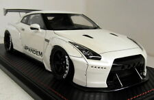 Ignition Model 1/18 Scale 1003 Nissan Skyline R35 GT-R Pandem White Resin car