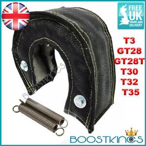 BK PREMIUM BLACK T3 TURBO BLANKET T3 GT28 GT28T T30 T32 T35 Heat Shield Cover