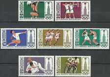 Timbres Sports JO Mongolie 1052/8 ** lot 9087