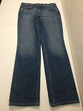 Levis Womens Jeans 505 Straight Leg Blue Tag Size 8 M Stretch Actual 30x31