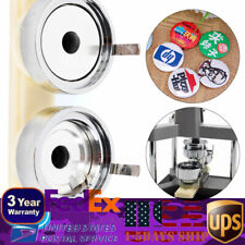 37mm Acrylic Badge Button Mould Machine Round Badge Interchangeable Die Mould