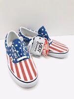 Vans Van Doren American Flag Stars & Stripes Men's Size 9 / Women 10.5 Brand New
