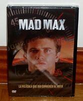 MAD MAX-DVD-NUEVO-PRECINTADO-SEALED-NEW-ACCION-AVENTURAS-MEL GIBSON-FICCION