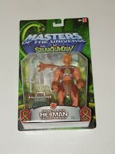 Snake Hunter He-man Figure MOTU 200x Masters of the Universe vs Snakemen 2003