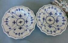 Royal Copenhagen two porcelain  Bowls Blue and white