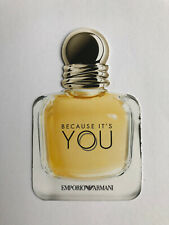 Giorgio Emporio Armani Because It's You EDP Perfume Fragrance Sample Card