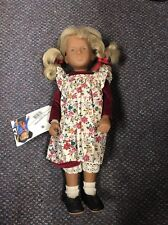 "Gotz Sasha Trudi 16.5"" Doll With Tags"
