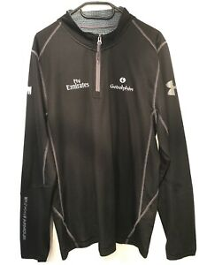 Godolphin - LG Team Issued Official Under Armour Zip Top - 2020/2021 Kit - Large