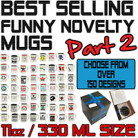 Funny Novelty Mug Cup Coffee Tea BLACK - SUPER BB2