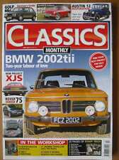 Classics Monthly July 2015 BMW 2002 Tii Golf Mk1 MGC GT Austin 12 Jaguar XJS 75
