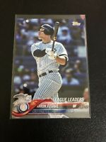 Lot Of 25 New York Yankees Baseball Cards + 2018 Topps Series 1 Aaron Judge...