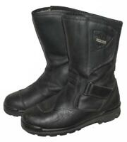 """ BLUE DELTA "" Motorradstiefel / Biker- Stiefel / Boots in schwarz ca. Gr. 38,5"