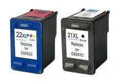 TINTA GEN NON-OEM 21 NEGRO & 22 COLOR C9351 C9352 Deskjet F350 F370 F378 F380