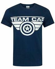 Captain America Civil War Team Cap Men's T-Shirt