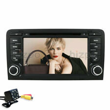 For Audi A3/S3/RS3 2003-2011 Android 9.0 Car DVD GPS Navi Wifi Radio Stereo+Cam