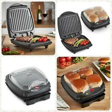 1100 W Electric Grille-pain Grill Panini Press Sandwich BBQ Barbecue BURGER MAKER New