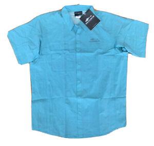 New Grundens Hooksetter Fishing Outdoor Shirt UPF 50 Water Resistant   Sz XL