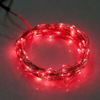 20/30/40/50/100 LED String Copper Wire Fairy Lights Battery Powered Waterproo YS