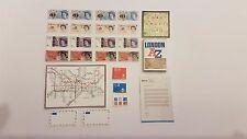 1:48th scale Modern letters stamps maps money stationary for dollshouse KIT UK