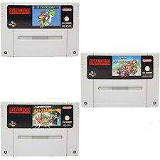 SNES - Super Mario World + Kart + All Stars - Spiel für Super Nintendo