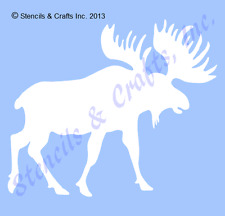 """4"""" MOOSE STENCIL NORTHWOODS STENCILS ANIMAL TEMPLATES CRAFT PAINT TEMPLATE NEW"""