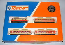 ROCO HOe SCALE #31010 OBB OVERHEAD ELECTRIC PASSENGER TRAIN PACK MINT BOXED