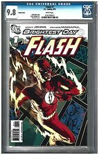 Flash #1 Cgc 9.8 (6/10) Dc Variant white pages