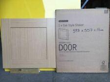 It Kitchens Oak Style Shaker 600mm X 557mm Bridging Unit Door Pack J
