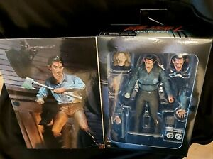 """Neca Evil Dead 2 Dead By Dawn Ultimate Ash 7"""" Action Figure - NEW AND OFFICIAL"""