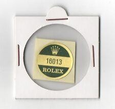 16013 ROLEX Sticker Reference Caseback VINTAGE 1980's OEM New Old Stock DATEJUST