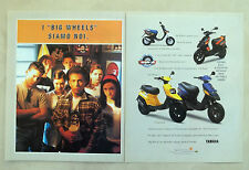 E589 - Advertising Pubblicità -1997- YAMAHA BIG WHEELS