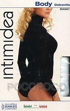 BODY DOLCEVITA MANICA LUNGA MICROFIBRA INTIMIDEA ART. 510038