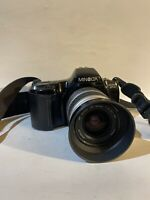 Minolta Maxxum SP XI SpXi Date 35mm SLR Film Camera with AF 35-80 Zoom Lens