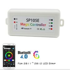Bluetooth SP105E Controller For WS2801 WS2812B iOS Android RGB LED Strip Light